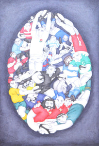 World Cup Rugby by Paul Hainsworth