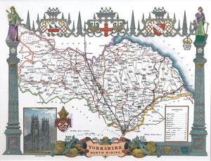 Thomas Moule's County Maps of England