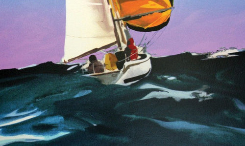 Yellow Spinnaker by Donald Hamilton Fraser