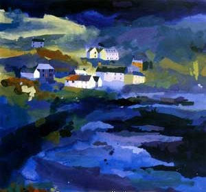 Blue Harbour, Coverack by Richard Tuff