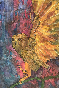 Owl by Christine Broadbent