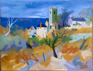 Zennor Church by Richard Tuff