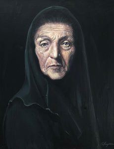 Yiayia (Grandmother) by George Sfougaras