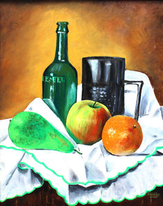 Still Life with Fruit by John Biddle