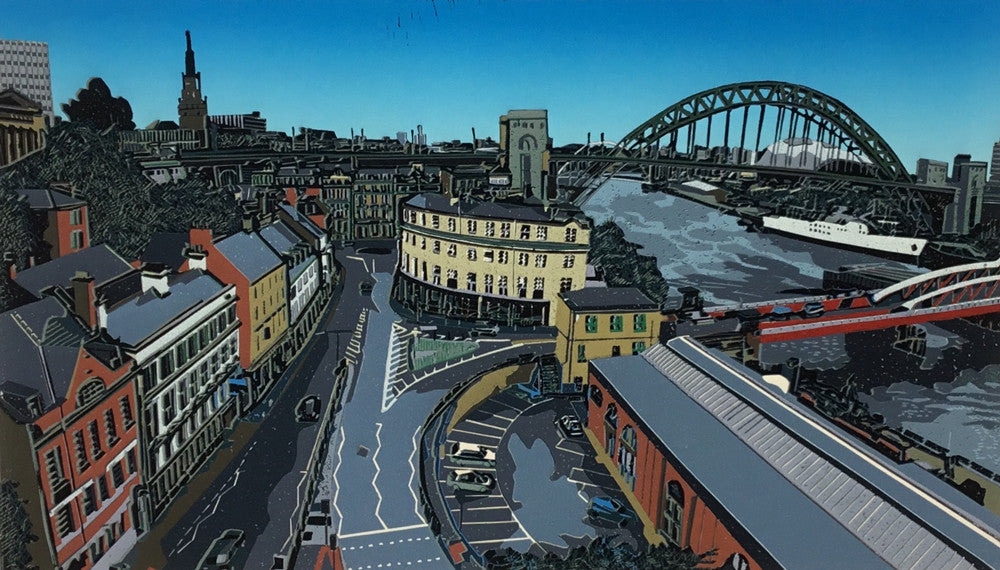 View Across Newcastle by Kevin Holdaway