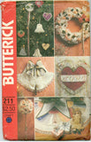 Butterick 211 - Victorian Christmas Decorations and Transfers - Serendipity Vintage