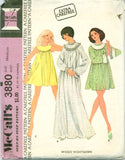 McCall's 3880 - Misses' Baby Doll and Classic Nightgown - Serendipity Vintage