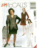 McCall's 7355 - Misses Lined or Unlined Jacket, Skirts, Pants, Scarf