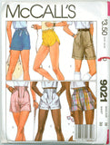 McCall's 9021 - Misses' Shorts in Six Different Styles - Serendipity Vintage