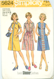 Simplicity 5624 - Women's Plus Size Look Slimmer A-Line Dress - Serendipity Vintage