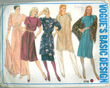 Vogue 2798 - Basic Design - Tunic, Skirt, Dress, and Shawl - Serendipity Vintage