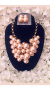 Cascade of pearls necklace - Faithfully Fresh Apparel