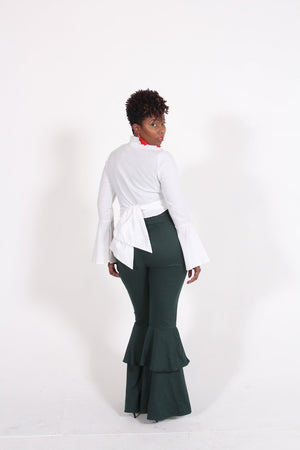 Flare Bottom Pants - Faithfully Fresh Apparel
