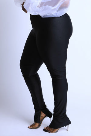 Black High Waist Leggings - Faithfully Fresh Apparel