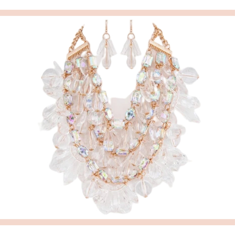 Crystal Statement Necklace - Faithfully Fresh Apparel