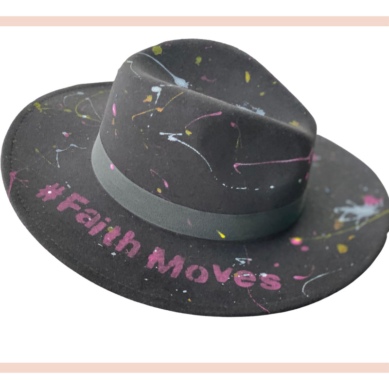 Faith Moves Hat - Faithfully Fresh Apparel