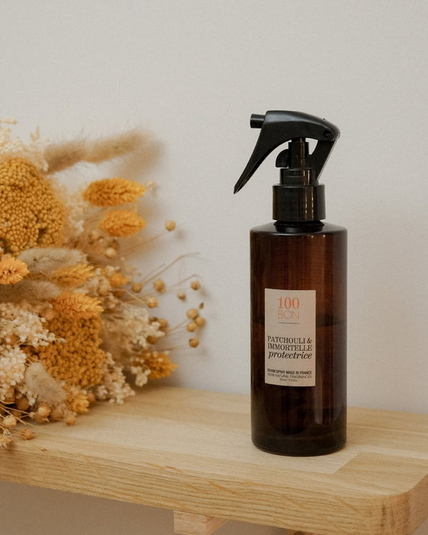 Spray d'Ambiance - Patchouli & Immortelle