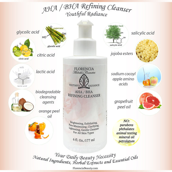 AHA / BHA Refining Cleanser by Florencia