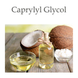Caprylyl Glycol is a very unique ingredient. Derived from coconut oil. It offers moisturizing & anti-microbial benefits.
