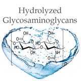 Hydrolyzed  Glycosaminoglycans are a mixture of plant-derived polysaccharides.