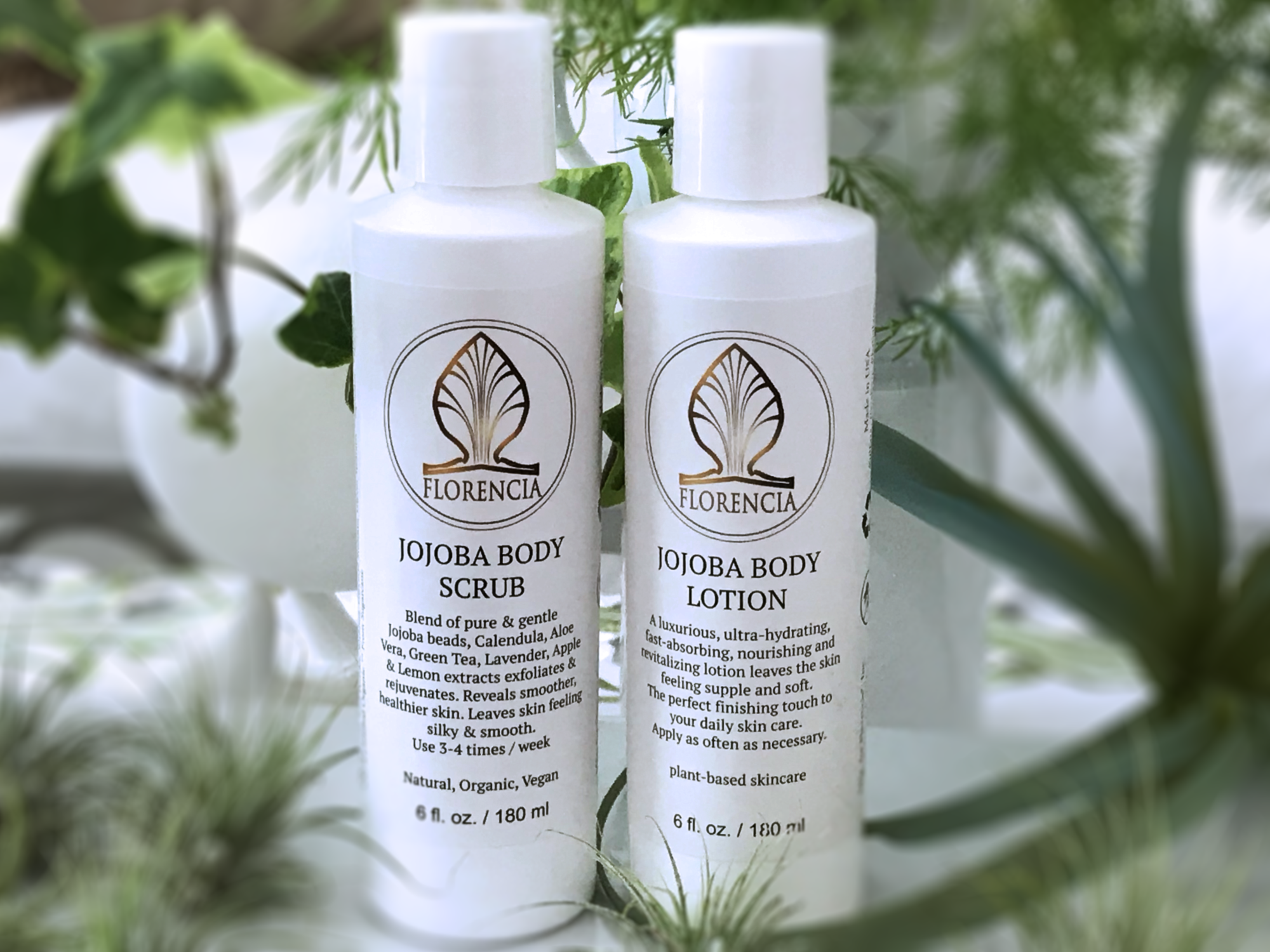 Body Essentials - Jojoba Body Scrub and Jojoba Body Lotion