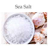 Sea Salt contains magnificent minerals and nutrients from the sea that are very beneficial to the skin.