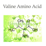 Valine is an amino acid with significant effects in skin care.