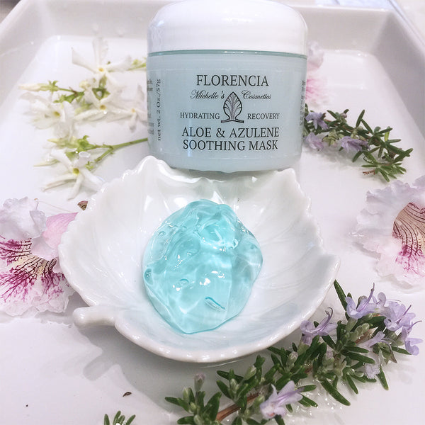 Aloe & Azulene Soothing Mask - Hydrating Recovery by Florencia