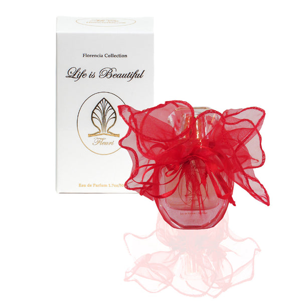 Fleuri Perfume for Women by Florencia · Floral Fragrance · Florencia Collection Life is Beautiful