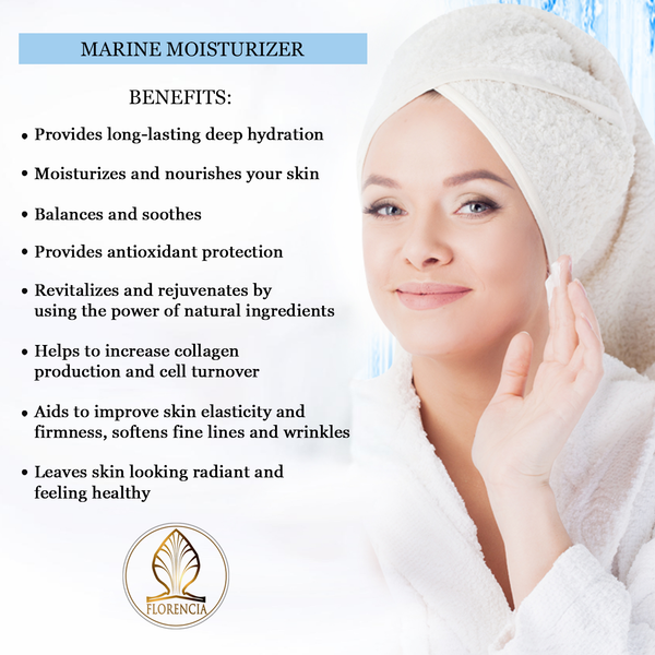 Benefits of Marine Moisturizer Face and Neck Cream