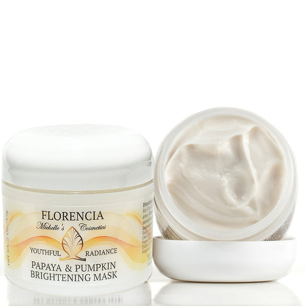 Papaya & Pumpkin Brightening Exfoliating Mask - Youthful Radiance by Florencia
