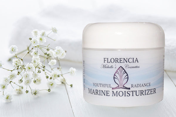 A jar of Marine Moisturizer Youthful Radiance.