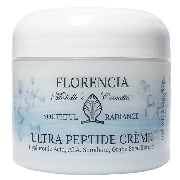 Jar of Ultra Peptide Cream.