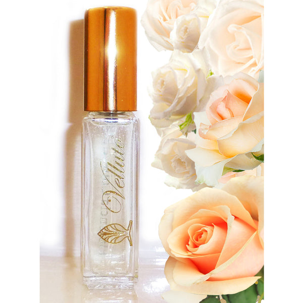 Velluto Fragrance for Women by Florencia · Soft Floral Perfume · Florencia Collection Life is Beautiful · Travel Size Spray