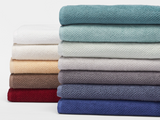 Coyuchi Air Weight Organic Cotton Bath Towels, 8 colors