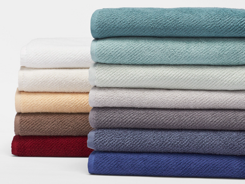 Coyuchi Air Weight Organic Cotton Bath Towels, 12 colors