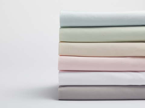 Coyuchi Sateen Organic Cotton Crib Sheets, 5 colors
