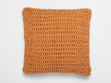 Coyuchi Woven Rope Pillow, Clay