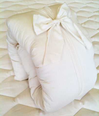 "Wool Mini Body ""Buddy"" Pillow by Holy Lamb Organics"