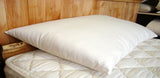Light Fill Wool Bed Pillow by Holy Lamb Organics - The Green Life Company - 1