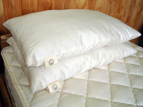 Wooley Down Bed Pillow by Holy Lamb Organics - The Green Life Company - 1
