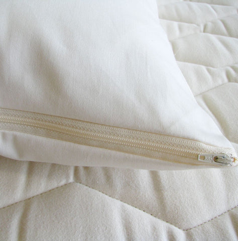 Zippered Pillow Protectors by Holy Lamb Organics - The Green Life Company - 1