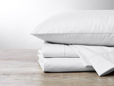 Coyuchi 500 TC Supima Percale Organic Cotton Sheets, 3 colors