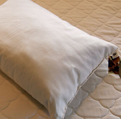 Organic Cotton Bed Pillows by Sachi Organics - The Green Life Company
