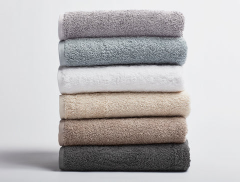 Coyuchi Cloud Loom Organic Cotton Bath Towels, 6 colors - The Green Life Company - 1