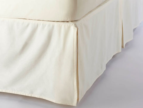 Coyuchi Organic Cotton Sateen Bed Skirt - The Green Life Company