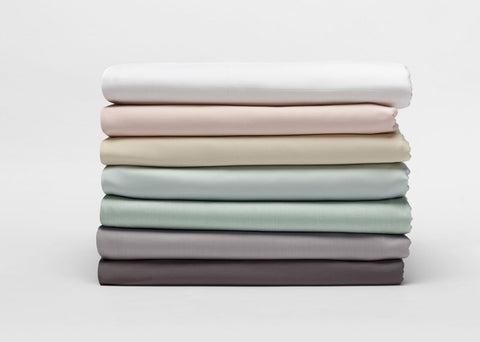Coyuchi Sateen Organic Cotton Duvet Covers, 7 colors