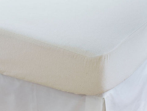 Coyuchi Machine Washable Organic Cotton Crib Mattress Protector - The Green Life Company