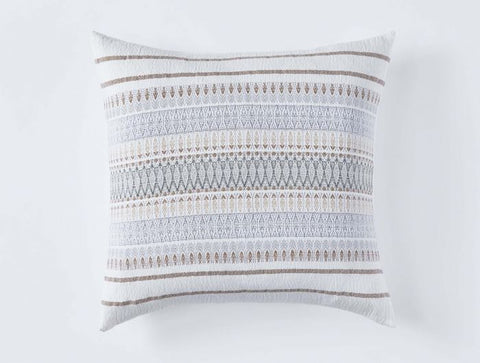 Coyuchi Lost Coast Organic Pillow, Earth