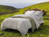 Coyuchi Birch Organic Cotton & Linen Duvet Covers, Natural - The Green Life Company - 4